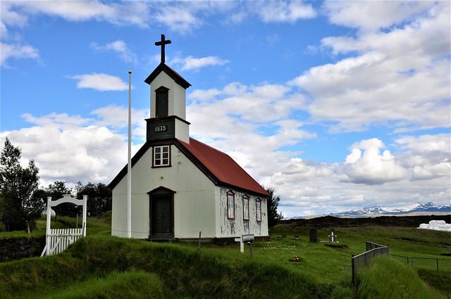 iglesia de madera-KELDUR-Iceland