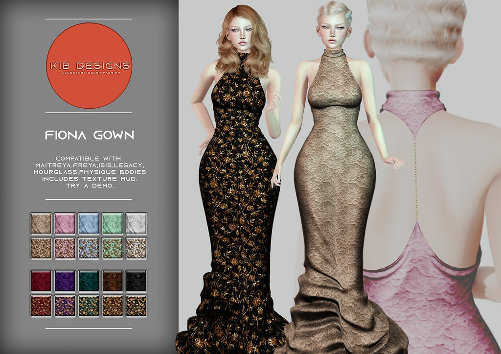 KiB Designs – Fiona Gown @4Seasons Event 8th May