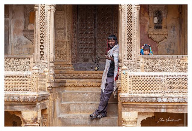 Au hasard d'une balade dans la vieille ville de Jaisalmer