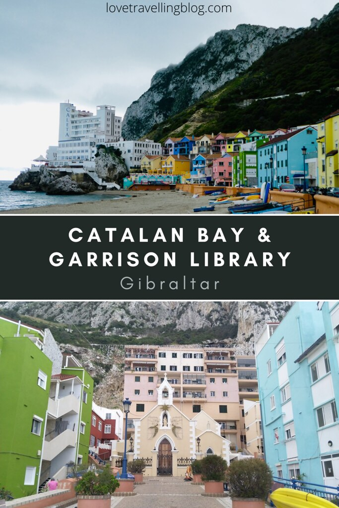 Catalan Bay & Garrison Library, Gibraltar