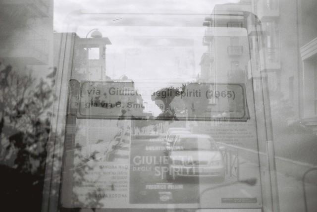 Via Giulietta Degli Spiriti (1965) (Multiple Exposure)