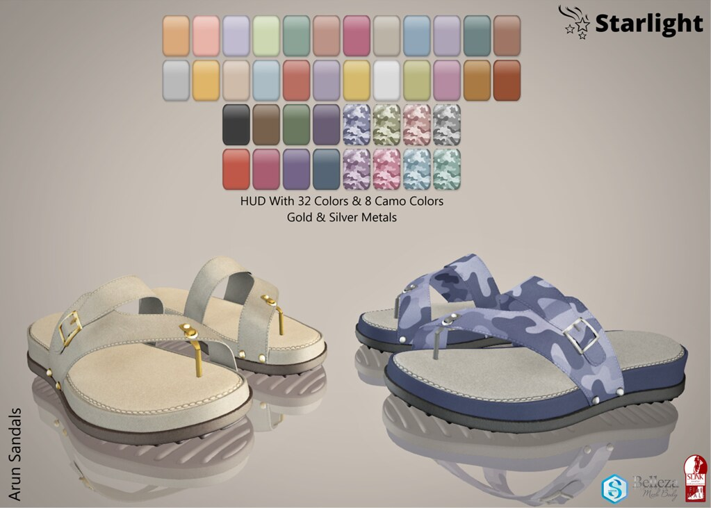 :: SA :: Arun - Men's Sandals with HUD