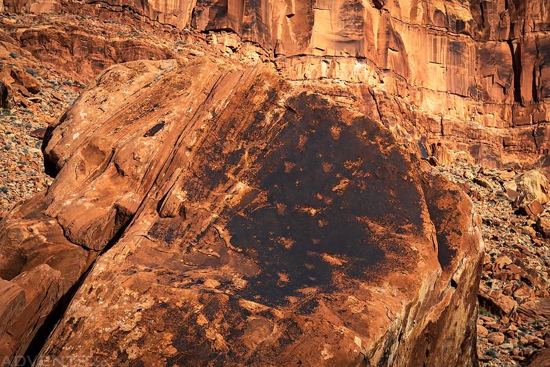 Footprints Boulder