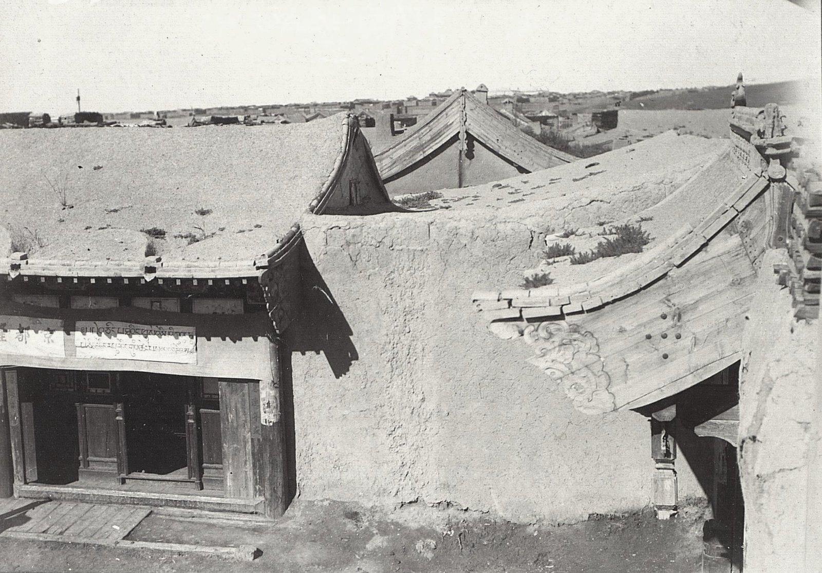 Урга. Фасад китайской лавки