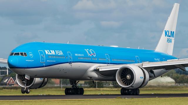 KLM PH-BVC plb20-01107