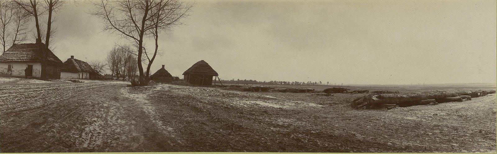 117. Блиндажи для укрытия резерва Дагестанского полка