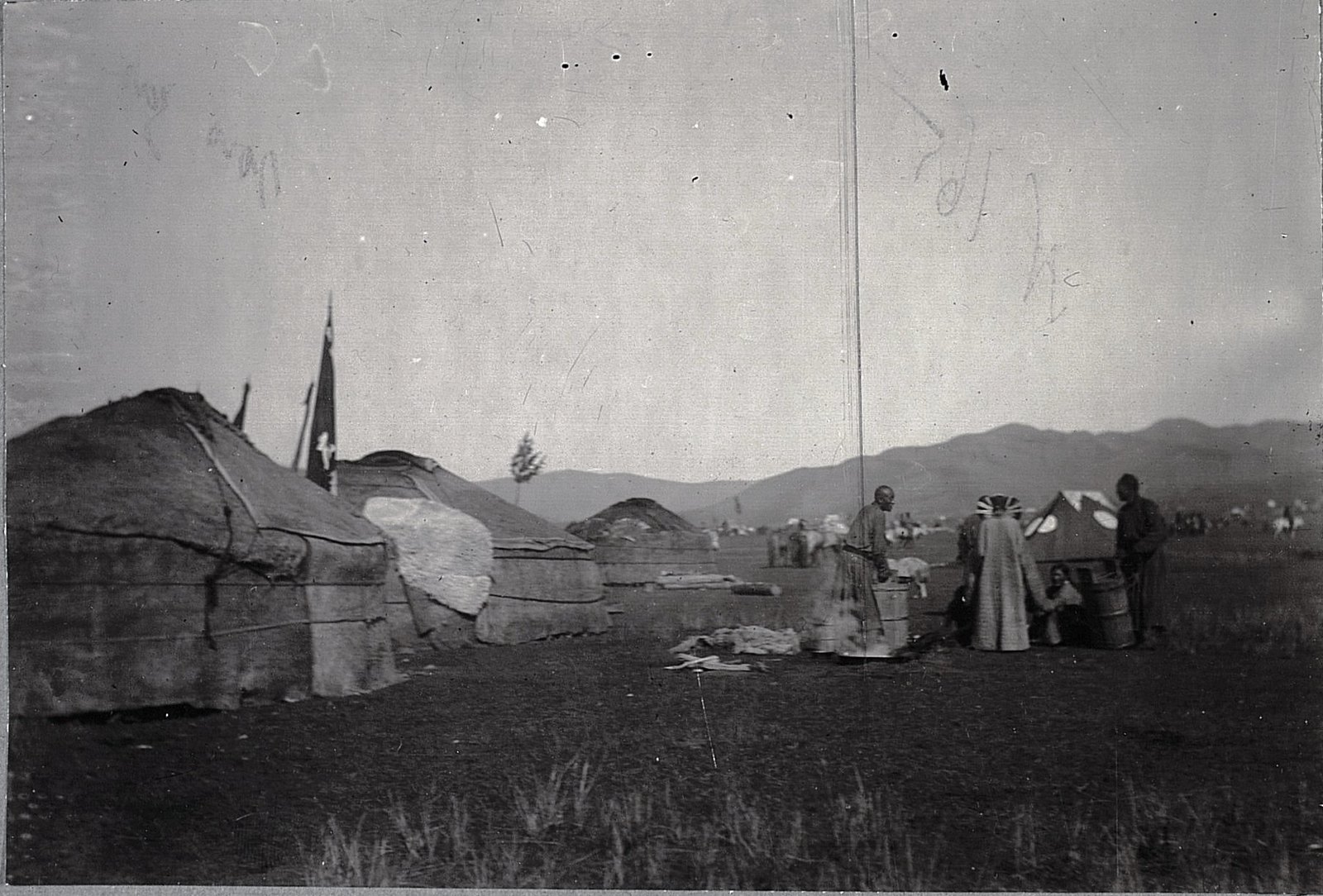 Урга. Юрты маньчжурских солдат