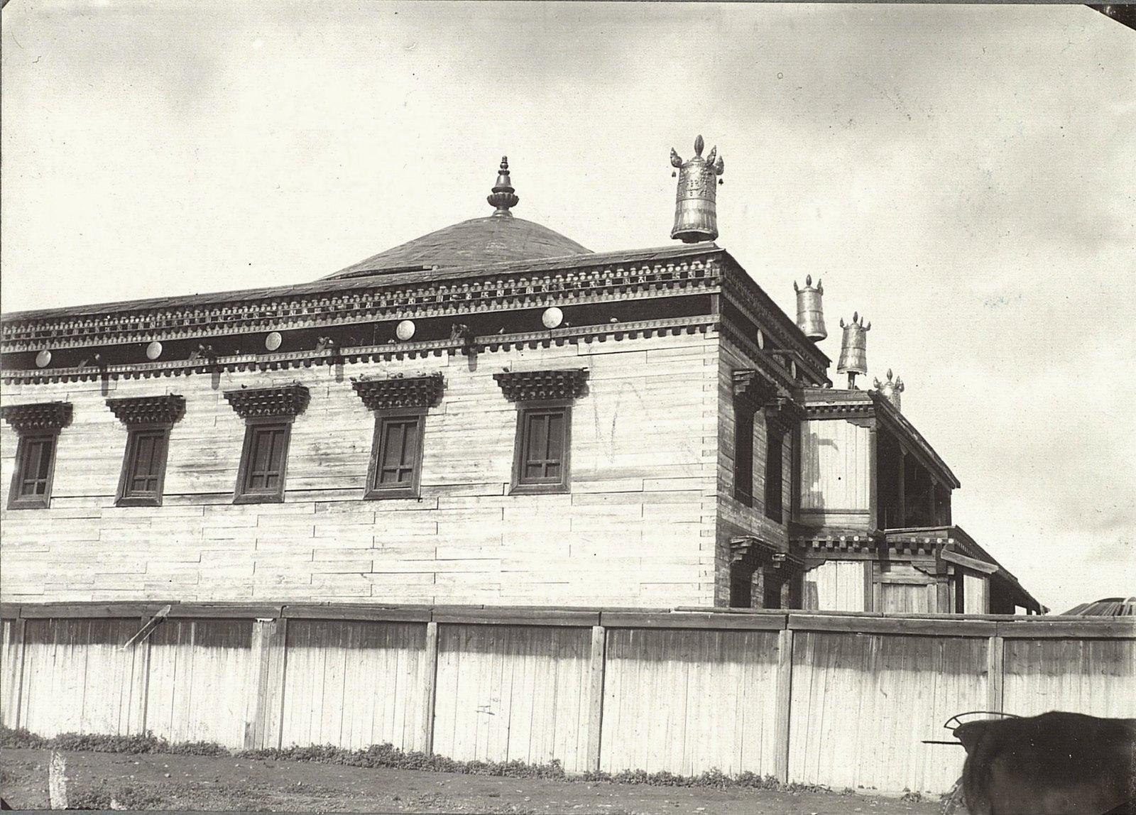 Урга. Храм Майдара