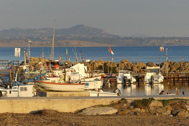Sunny evening, Porto Marinella - Selinunte, Sicilia - Italy