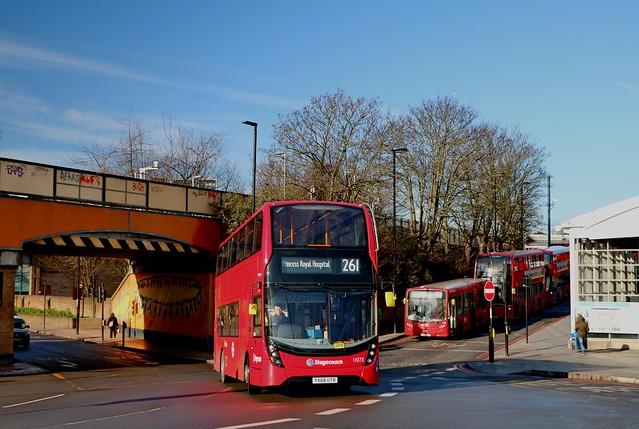 Stagecoach London - 11073 - YX68UTR