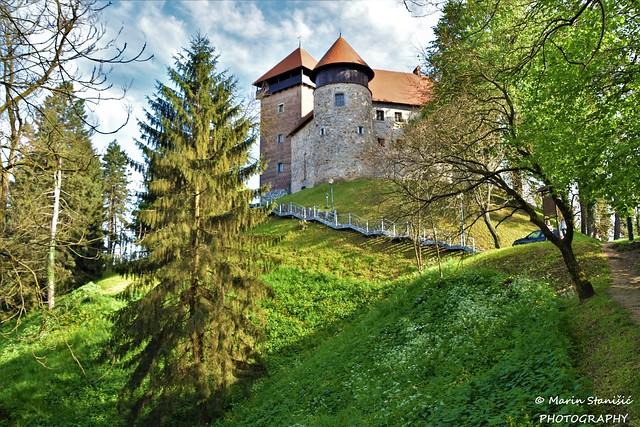 Castle Dubovac in springtime - Karlovac, Croatia