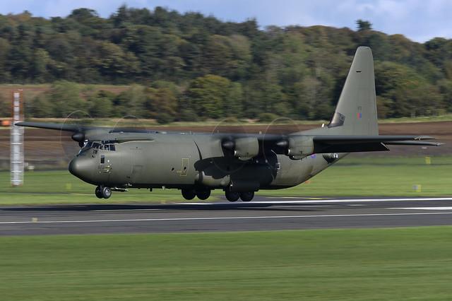 ZH872 Lockheed Hercules C.4 EGPK 01-10-20