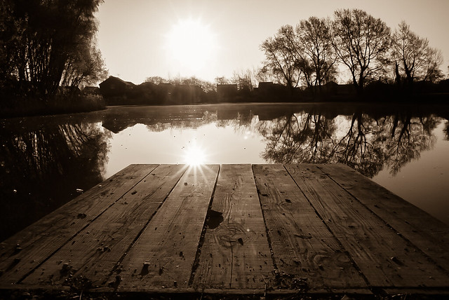 Moment of stillness