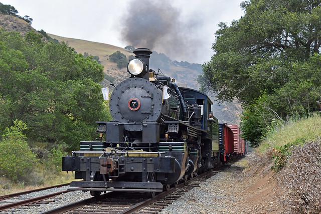 Niles Canyon Steam Freight