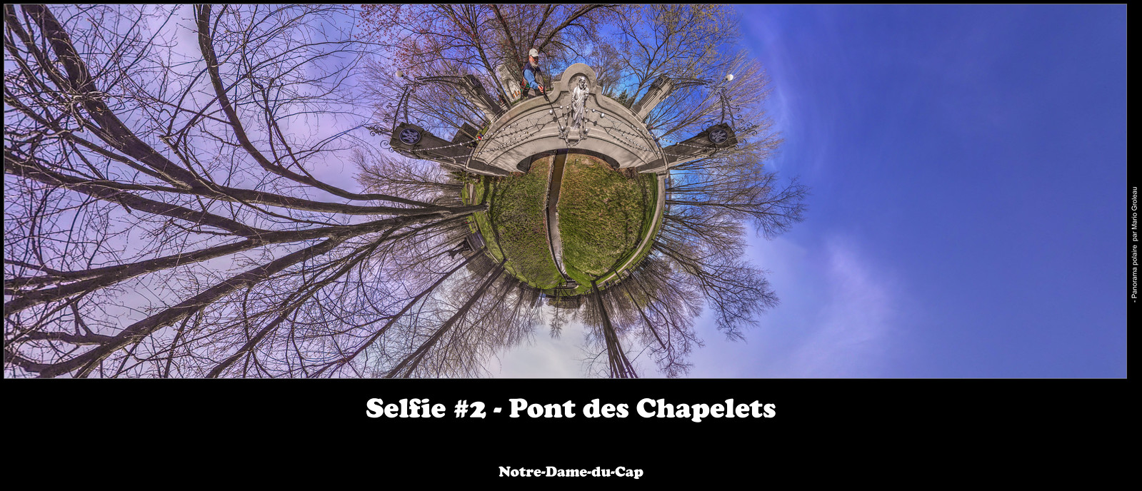 Selfie #2 - Pont des Chapelets