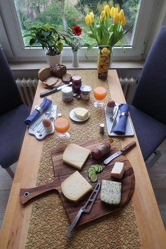 Frühstück am Sonntagmorgen