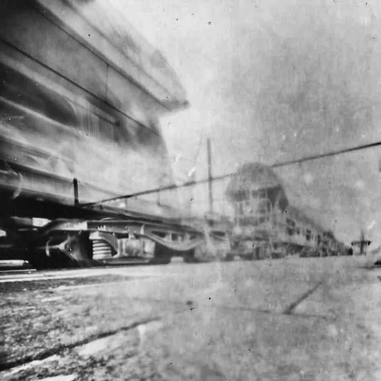 camera obscura train in the distance