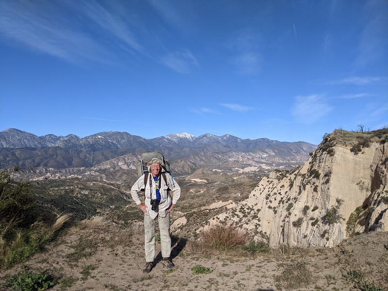 This view made the entire hike worth it - me and Mount San Antonio