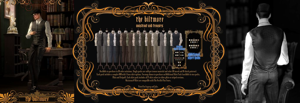 """The Biltmore Waistcoat & Trousers"" @ The Mens Department"