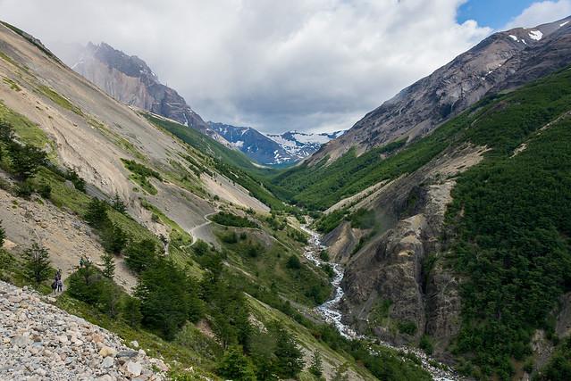 Parque Nacional Torres del Paine, Patagonia, Chile トーレス・デル・パイネ国立公園