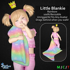 Presenting the new Little Blankie from Jester Inc.