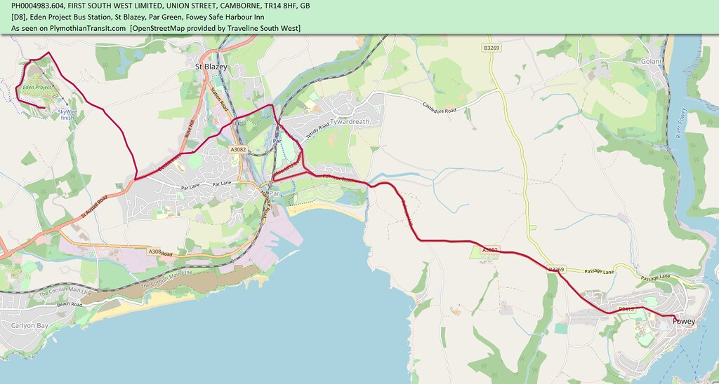 MAP route-D8