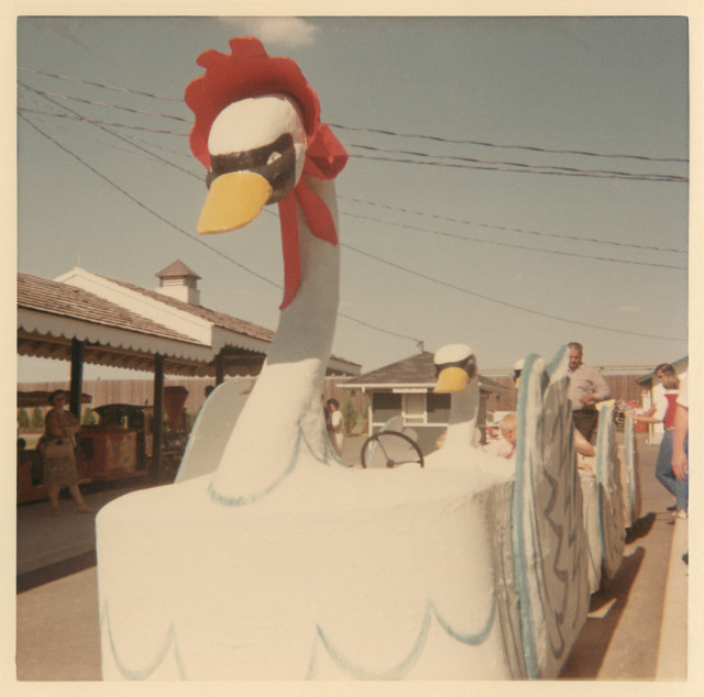 Gliding Swans Ride, Dutch Wonderland, Lancaster, Pa., ca. 1966