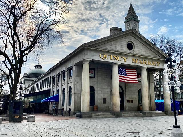 Boston - Quincy Market!