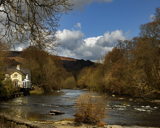The Welsh River Dee