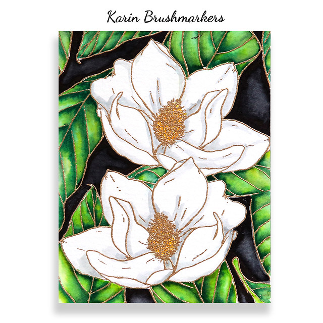 Karin brushmarkers