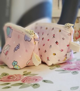 Little Heather Pouches