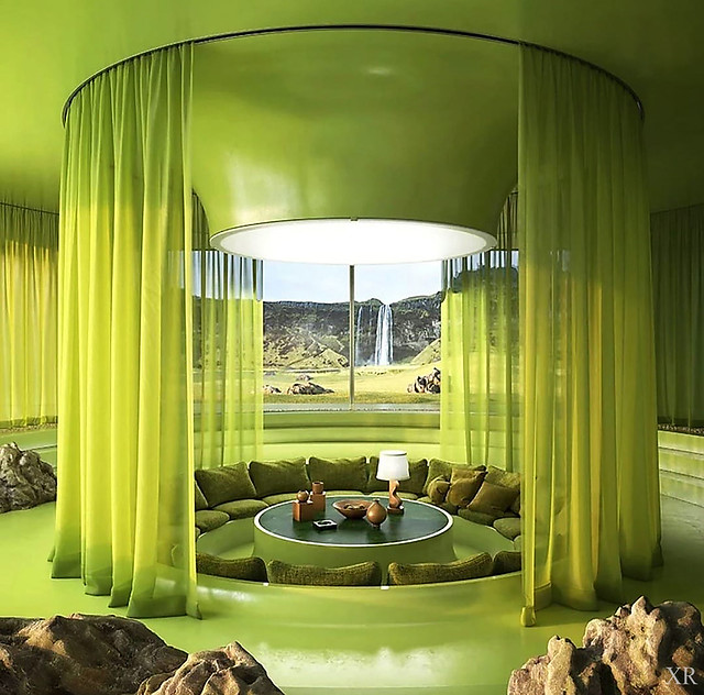 ... conversation pit for the green-obsessed!