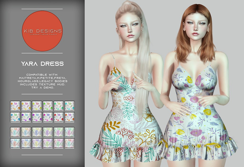 KiB Designs – Yara Dress @Pretty Event 7th May