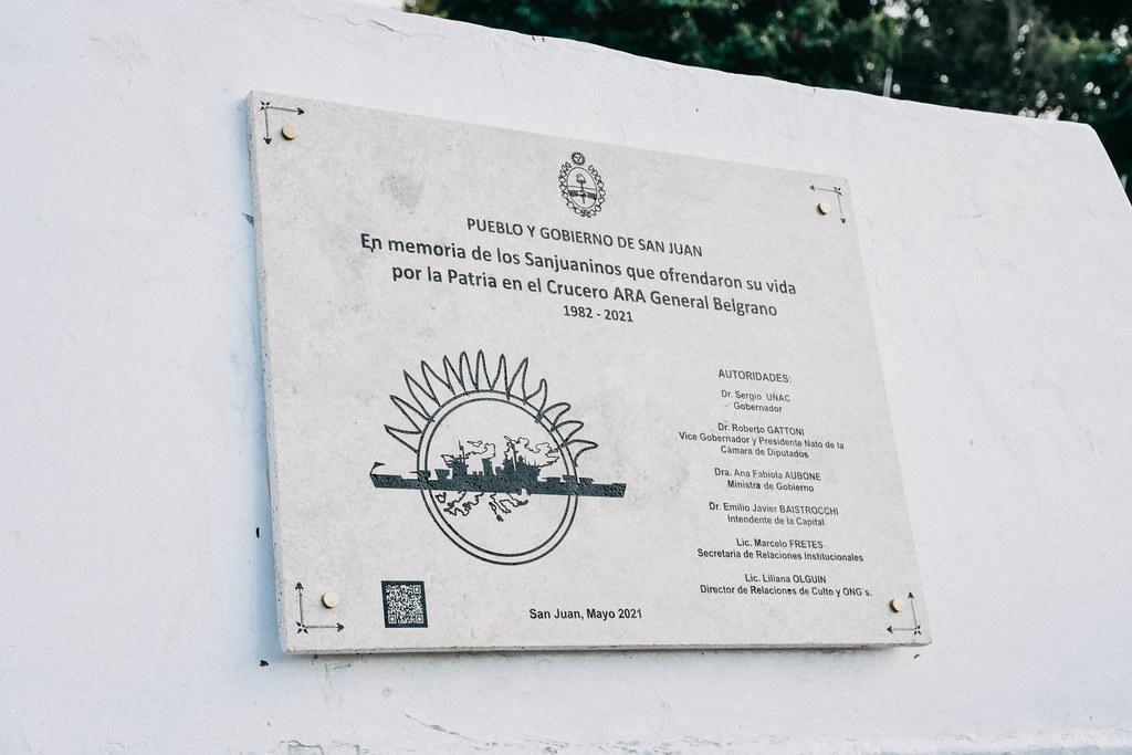 2021-05-03 GOBIERNO: Aniversario Crucero Gral Belgrano