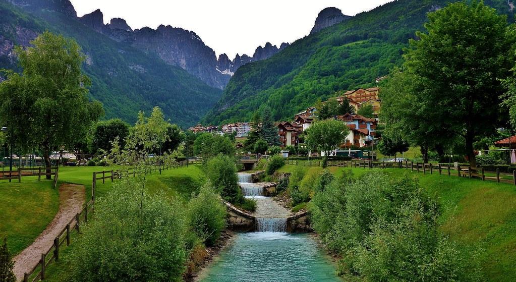 ITALIEN, Italy,  Rund um Molveno  (TN) , Rio Masso,  79039/13650