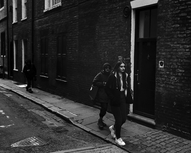 Gritty street look on film