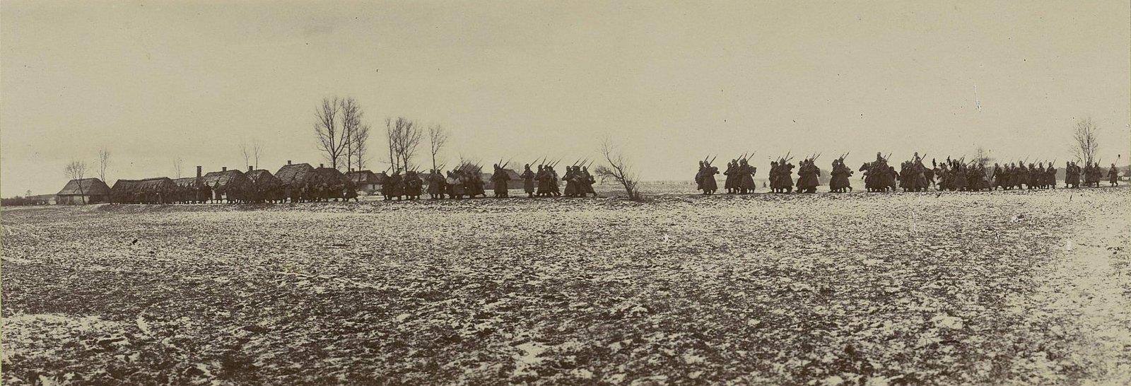 118. Прибытие молодых солдат к сел. Мыслеброж
