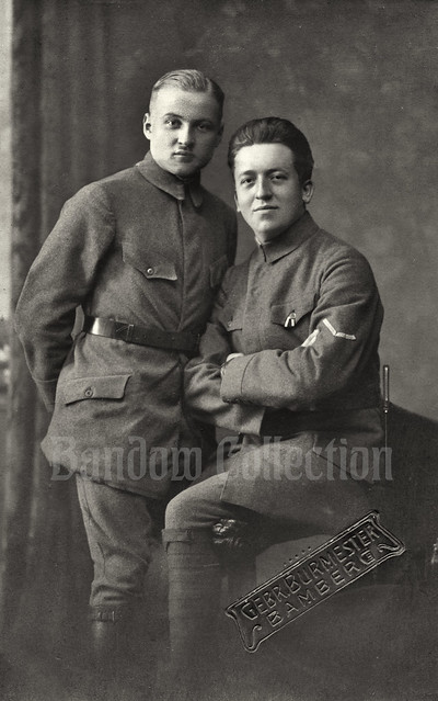 Friedensheer soldiers in Bamberg, Bavaria - 1919