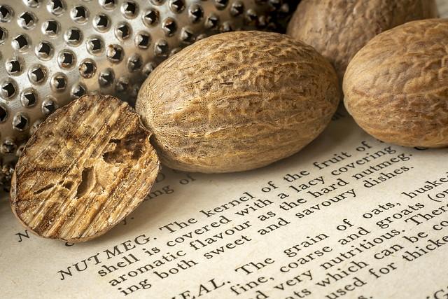 'Nutmeg & grater'…….