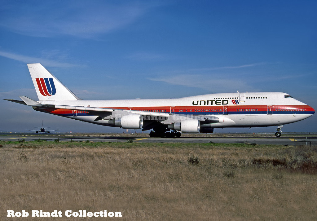 United Airlines B747-422 N188UA