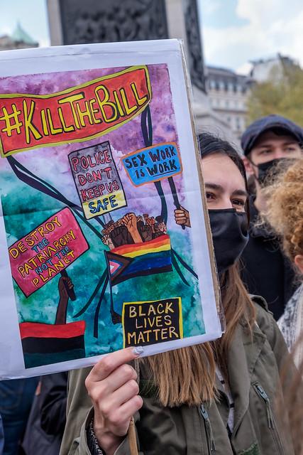 May Day 'Kill the Bill' Protest, London