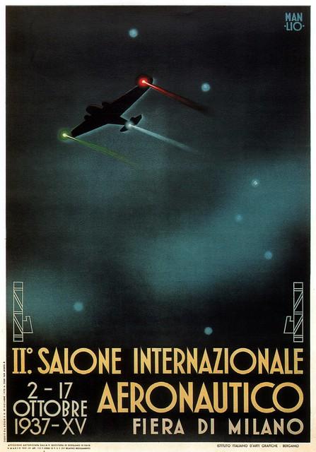 II° SALONE INTERNAZIONALE AERONAUTICO - 1937
