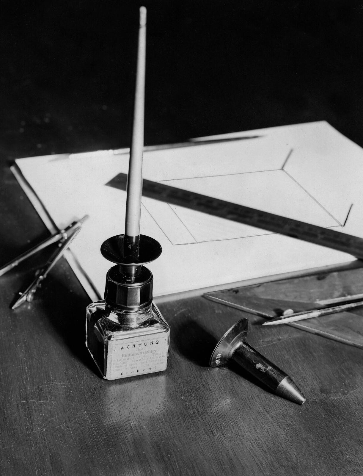 02. Чернильница с регулируемой погружной воронкой для пера