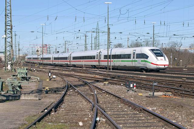 DB ICE 812 028 Basel Badischer Bahnhof