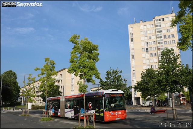 Irisbus Créalis 18 – Keolis Caen Mobilités / Twisto n°378