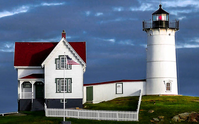 Cape Neddick Light, Maine. ⭐