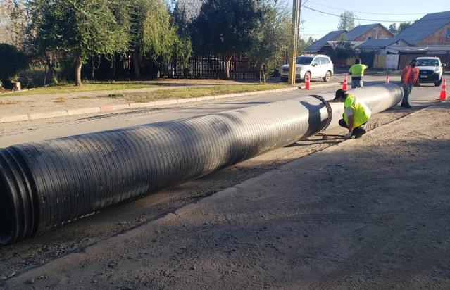 Comenzaron a ejecutarse los trabajos de nuevo asfalto en el sector de Loreto