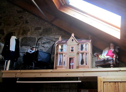 Dol's House, Pram and Dolls, Fife Folk Museum