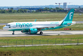 HZ-NS39 Airbus A320-251N FlyNas s/n 10539 - Delivery flight * Toulouse Blagnac 2021 *