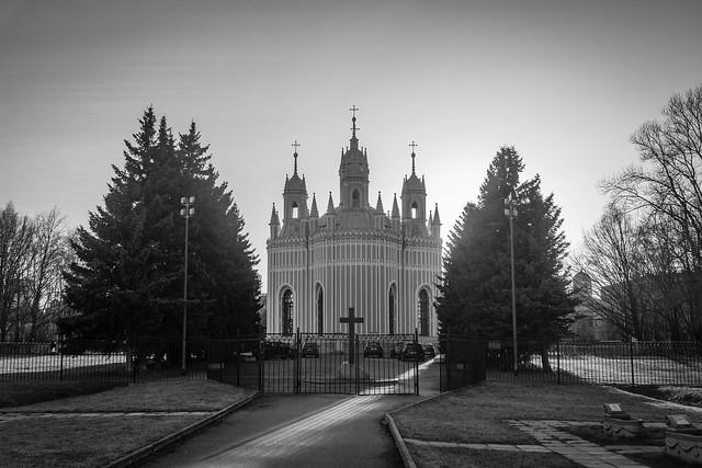 Чесменская церкаоь. Санкт-Петербург.